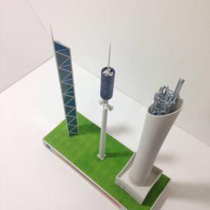 3D Printed Telecoms tower Dubai 2