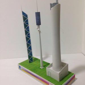 3D Printed telecoms tower Dubai