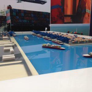 3D Printing port model Dubai