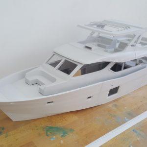 3D Printed Boat model
