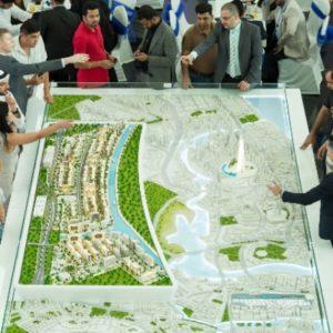 3D Printed Masterplan Dubai