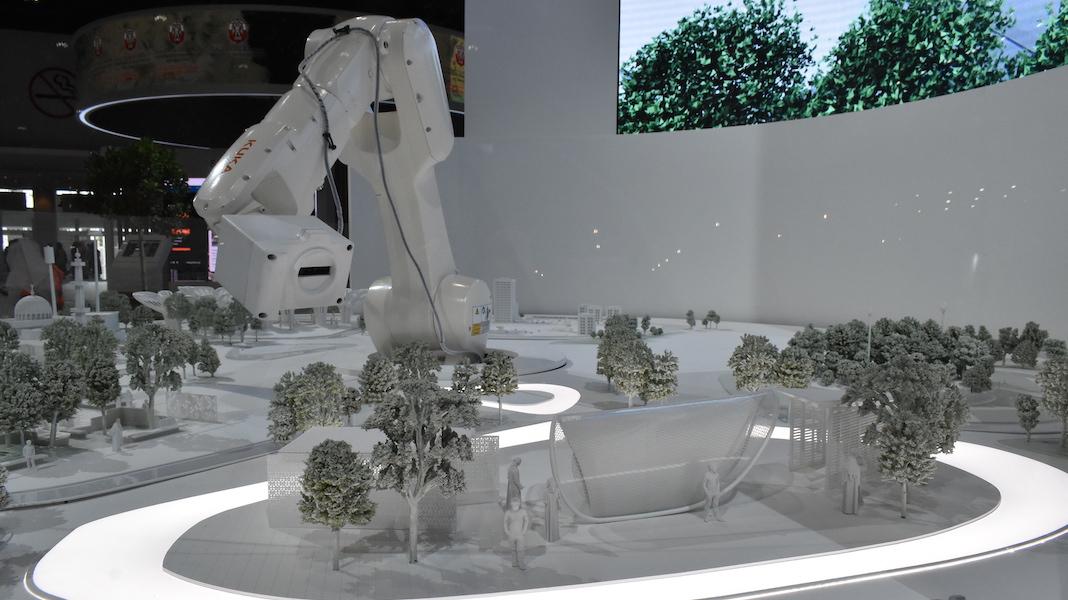 Interactive 3D Model Abu Dhabi