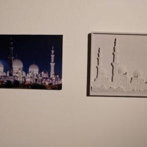 Mosque art using 3d printing